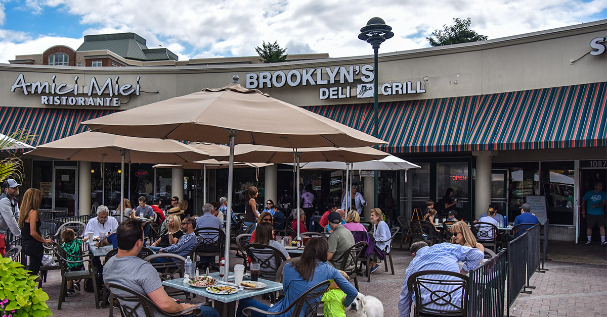 Brooklyns Deli | OutDoor Seating | Brooklyns Deli and Catering Potomac MD